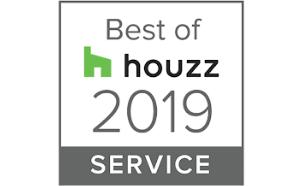 Best In Service Award Houzz 2019