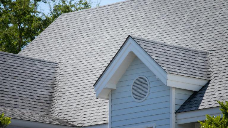 new asphalt tile roof