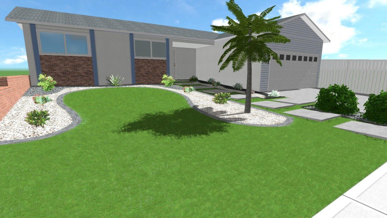 3d Landscape Design in Clairemont